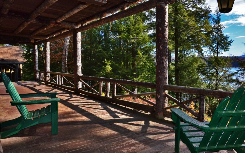 Relax and rejuvenate in the Adirondack Mountains.